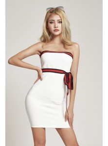 Iliana Quilt Bandeau Dress (Size M on Backorder)