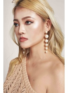 Dyma Pearl Drop Earrings (Backorder)