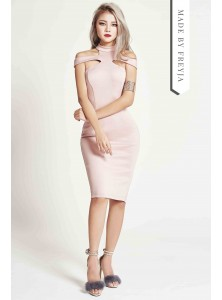 Danique Cutout Midi Dress