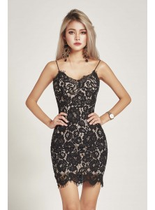 Hawthorne Lace Midi Dress