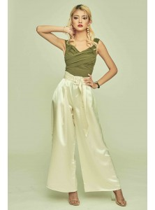 Everest Satin Palazzo Pants (Size S on Backorder)