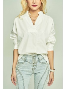 Tove Oversized Shirt in White