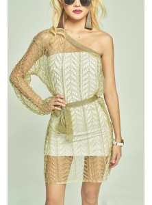 Amyra Knitted Yarn Dress