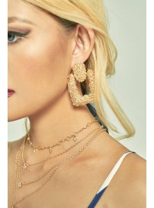 Charles Chunky Textured Earrings