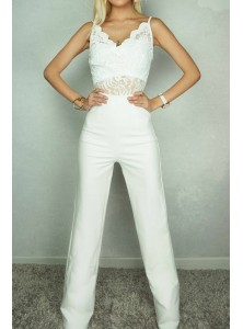 Isla Lace Jumpsuit
