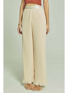 Piper Pleated Chiffon Palazzo Pants