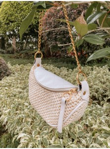 Waverly Crochet Chain Bag
