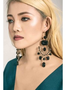 Onx Rhinestone Earrings