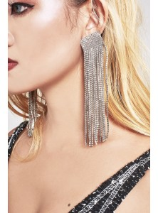 Karrer Diamonte Earrings (Backorder)